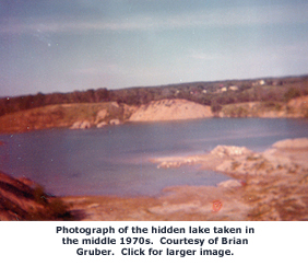 Hidden lake 1970s.