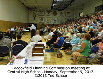 Brookfield Planning Commission meeting.